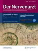 Der Nervenarzt 11/2017