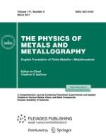 Physics of Metals and Metallography 3/2011