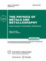 Physics of Metals and Metallography 2/2012