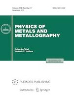 Physics of Metals and Metallography 11/2018