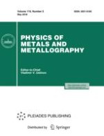 Physics of Metals and Metallography 5/2018