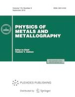 Physics of Metals and Metallography 9/2018