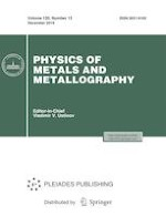 Physics of Metals and Metallography 13/2019