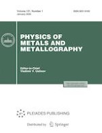 Physics of Metals and Metallography 1/2020