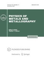 Physics of Metals and Metallography 11/2020