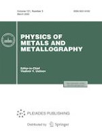 Physics of Metals and Metallography 3/2020