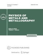 Physics of Metals and Metallography 7/2020