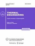 Thermal Engineering 4/2013