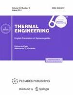 Thermal Engineering 8/2014