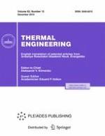 Thermal Engineering 13/2015