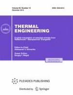 Thermal Engineering 14/2015