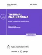 Thermal Engineering 4/2015