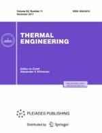 Thermal Engineering 11/2017