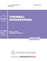 Thermal Engineering 10/2021