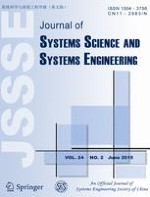 Journal of Systems Science and Systems Engineering 2/2015