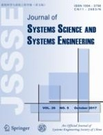 Journal of Systems Science and Systems Engineering 5/2017