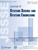 Journal of Systems Science and Systems Engineering 2/2018