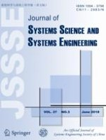 Journal of Systems Science and Systems Engineering 3/2018