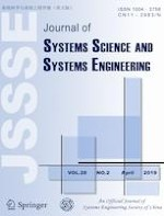 Journal of Systems Science and Systems Engineering 2/2019