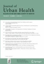 Journal of Urban Health 3/2016