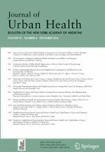 Journal of Urban Health 6/2016