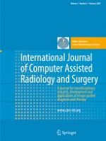 International Journal of Computer Assisted Radiology and Surgery 5/2007