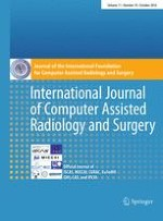 International Journal of Computer Assisted Radiology and Surgery 10/2016