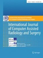 International Journal of Computer Assisted Radiology and Surgery 11/2016