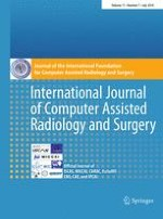 International Journal of Computer Assisted Radiology and Surgery 7/2016