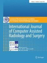 International Journal of Computer Assisted Radiology and Surgery 8/2016