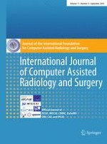 International Journal of Computer Assisted Radiology and Surgery 9/2016