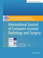 International Journal of Computer Assisted Radiology and Surgery 2/2017