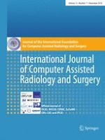 International Journal of Computer Assisted Radiology and Surgery 11/2018