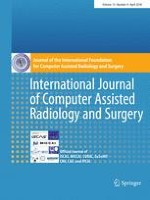 International Journal of Computer Assisted Radiology and Surgery 4/2018