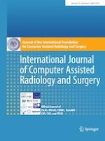 International Journal of Computer Assisted Radiology and Surgery 4/2019