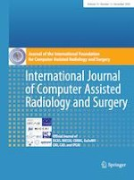 International Journal of Computer Assisted Radiology and Surgery 12/2020