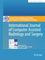 International Journal of Computer Assisted Radiology and Surgery 9/2021