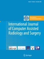 International Journal of Computer Assisted Radiology and Surgery 5/2008
