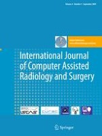 International Journal of Computer Assisted Radiology and Surgery 5/2009