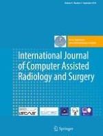 International Journal of Computer Assisted Radiology and Surgery 5/2014