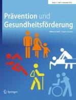 Prävention und Gesundheitsförderung 4/2016