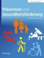 Prävention und Gesundheitsförderung 3/2017