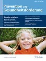 Prävention und Gesundheitsförderung 2/2009