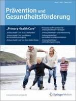Prävention und Gesundheitsförderung 1/2010