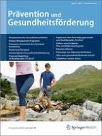 Prävention und Gesundheitsförderung 4/2010
