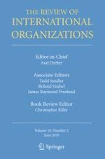 The Review of International Organizations 2/2015