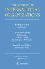 The Review of International Organizations 3/2016