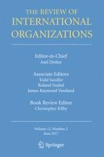 The Review of International Organizations 2/2017