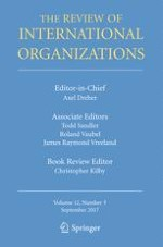 The Review of International Organizations 3/2017