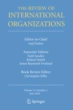 The Review of International Organizations 2/2018